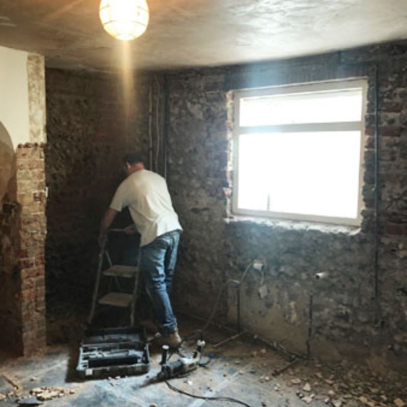 Victoria Road - Damp Proofing Cover Photo - Damptec Plastering